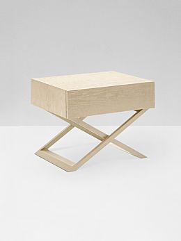 Ascot Bedside Table - Natural Ash