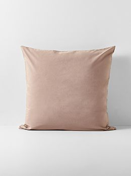 Halo Organic Cotton European Pillowcase - Rosewater