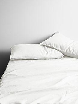 Halo Organic Cotton Sheet Set - White