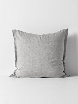 Herringbone European Pillowcase - Dove