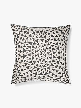 Inca European Pillowcase - Steel Grey