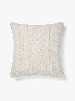 Jumbo Cable Cushion - Marshmallow