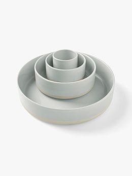 Kali Serving Bowls Set of 4 - Dove