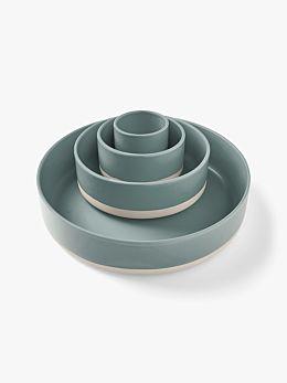 Kali Serving Bowls Set of 4 - Mist