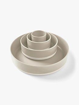 Kali Serving Bowls Set of 4 - Natural