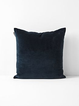 Luxury Velvet Cushion - Slate