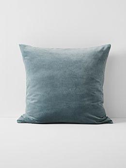 Luxury Velvet European Pillowcase- Eucalypt