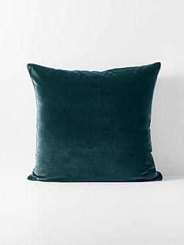 Luxury Velvet European Pillowcase - Indian Teal
