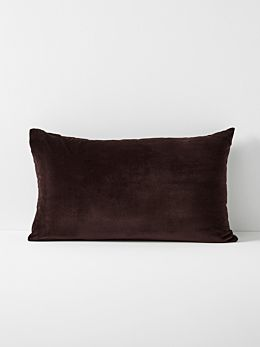 Luxury Velvet Standard Pillowcase- Fig