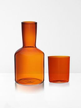 Carafe & Glass by Maison Balzac - Amber