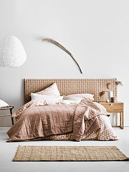 Maison Bed Cover - Clay