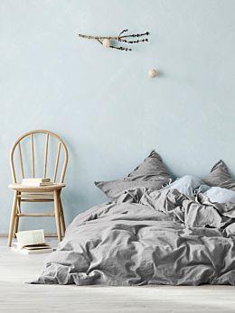 Maison Fringe Quilt Cover - Smoke