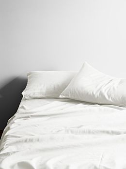 Maison Vintage Sheet Set - White
