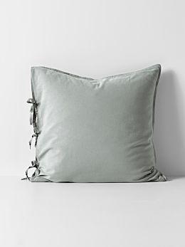 Maison Vintage European Pillowcase - Limestone