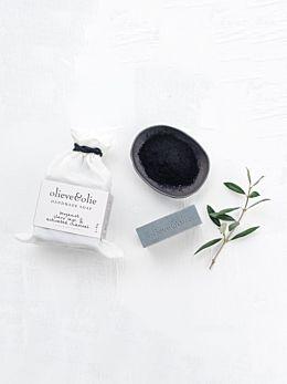 Bergamot & Charcoal Soap by Olieve