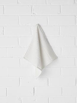 Paros Face Washer - White Wash