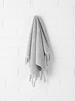 Paros Hand Towel - Dove