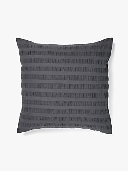Rarni European Pillowcase - Steel Grey