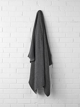 Ribbed Throw - Grey