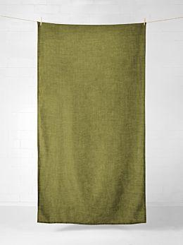 Vintage Linen Tablecloth - Olive