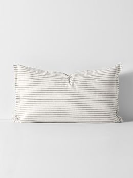 Vintage Stripe Standard Pillowcase - Mink