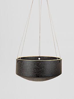 Charred Embers Hanging Planter Large by Zakkia